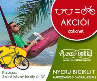 Nyerj biciklit napszemüveg vásárlással!