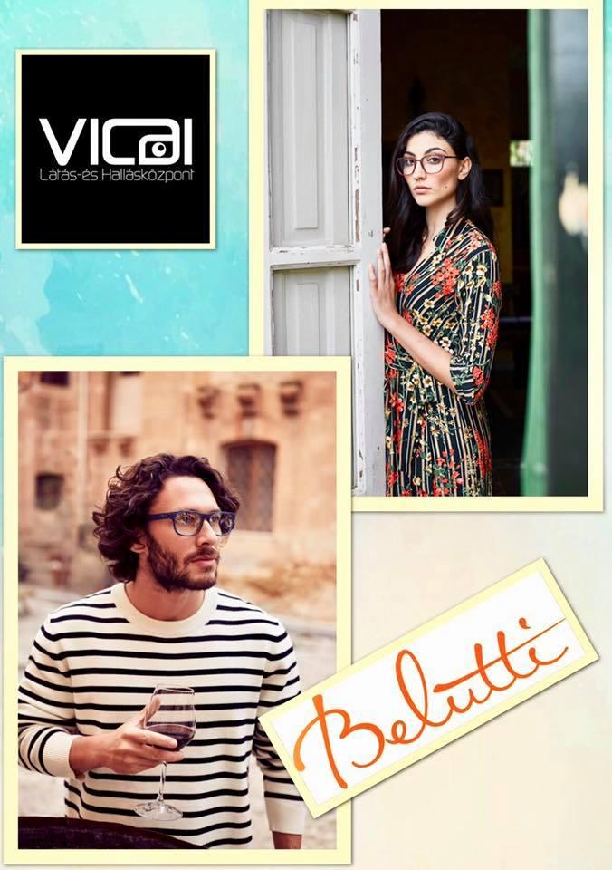 Válasszon szemüveget a Belutti márkás olasz kereteink közül a Vicai Látás-  és Hallásközpontban. További részletek az üzletben. © 2016 Vicai Optika  Kalocsa ... 2f5c214866