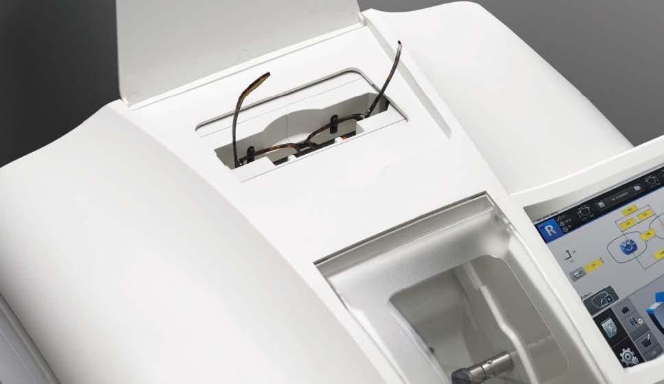 Huvitz szemüveglencse csiszolóegység