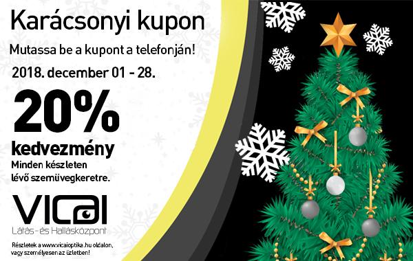 Karácsonyi kupon akció – meghosszabbítva jan. 31-ig! 660475131b