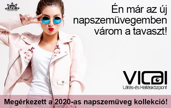 Idén is a legstílusosabb kollekciókkal és több száz új modellel készültünk a napszemüvegek szerelmeseinek!