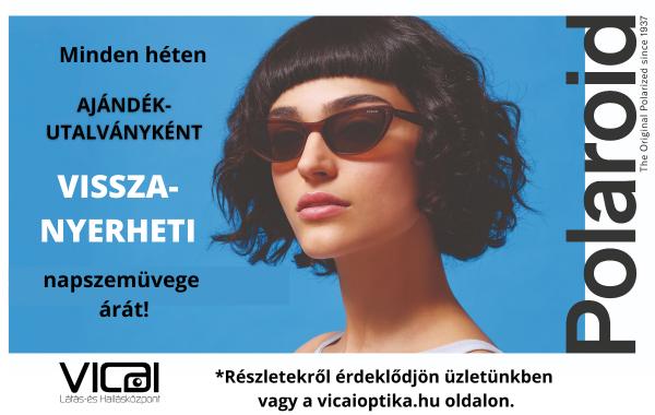 A Vicai Látás- és Hallásközpont 2021 tavaszán nagyszabású napszemüveg akciót hirdet.